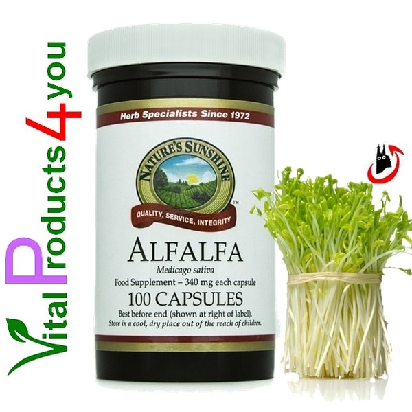Alfalfa Art.-Nr. 30 - Natures Sunshine Products (NSP)
