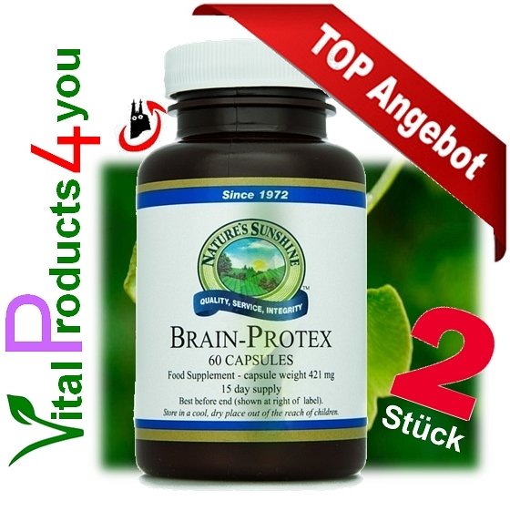 Brain Protex mit Huperzine 2 Stück Art.-Nr. 2105 - Natures Sunshine Products (NSP)