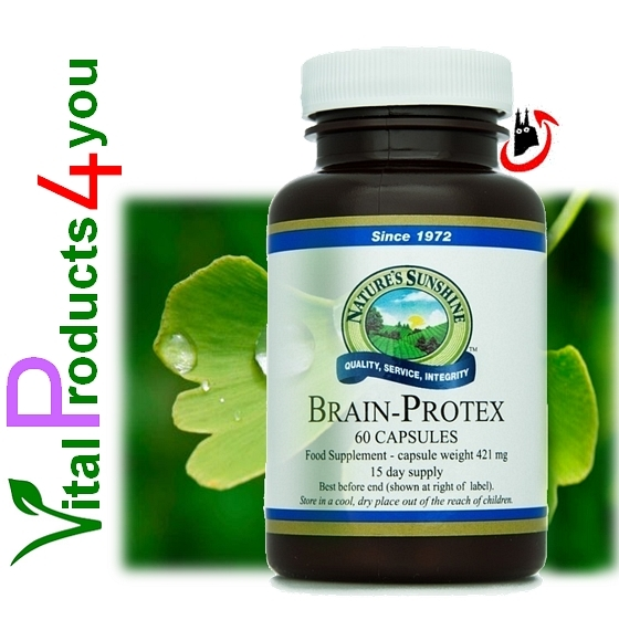 Brain Protex mit Huperzine Art.-Nr. 3114 - Natures Sunshine Products (NSP)