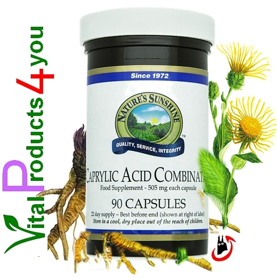 Caprylic Acid Combination Art.-Nr. 1808 - Natures Sunshine Products (NSP)