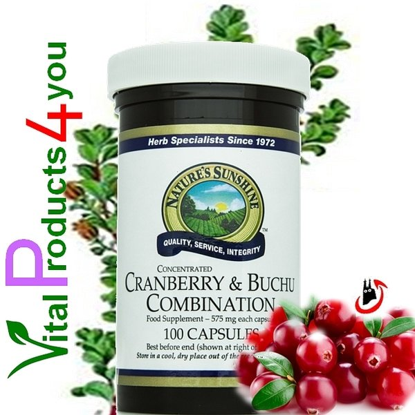 Cranberry and Buchu Combination Art.-Nr. 834 - Natures Sunshine Products (NSP)