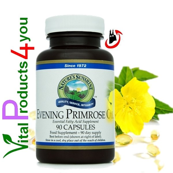 Evening Primrose Oil (Nachtkerzenöl) Art.-Nr. 1787 - Natures Sunshine Products (NSP)