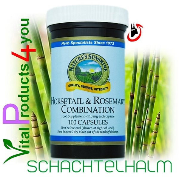 Horsetail and Rosemary Combination Art.-Nr. 935 - Natures Sunshine Products (NSP)