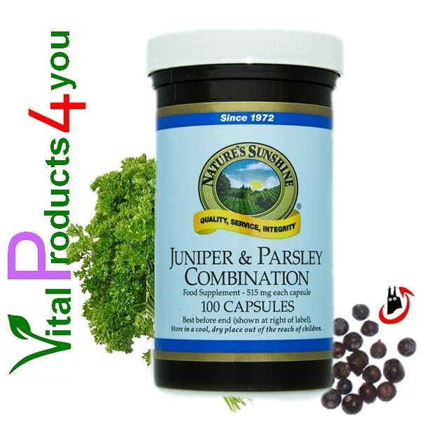 Juniper and Parsley Combination Art.-Nr. 970 - Natures Sunshine Products (NSP)