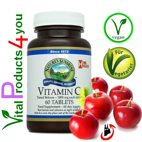 Vitamin C 1000mg Timed Release Art.-Nr. 1635 - Natures Sunshine Products (NSP)