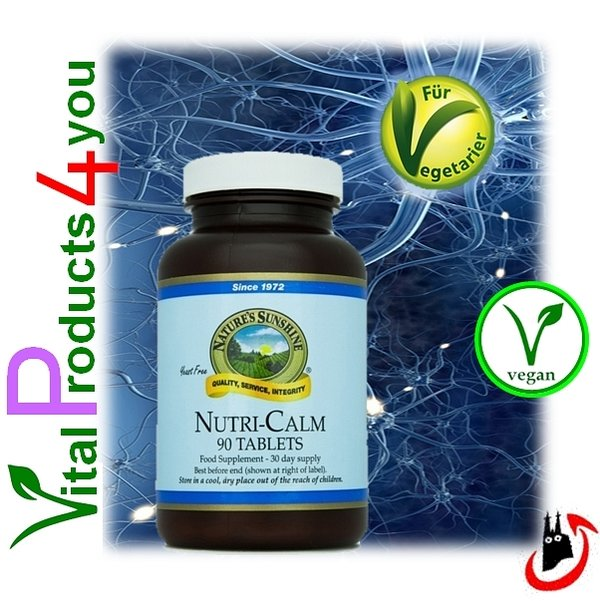 Nutri-Calm (Kamille) Art.-Nr. 4798 - Natures Sunshine Products (NSP)