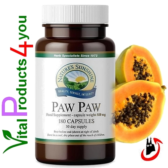 Paw Paw (Krebs) Art.-Nr. 515 - Natures Sunshine Products (NSP)