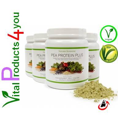 Pea Protein Plus (4 Dosen) Art.-Nr. 9938 - Natures Sunshine Products (NSP)