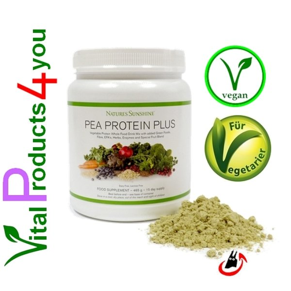 Pea Protein Plus Art.-Nr. 3490 - Natures Sunshine Products (NSP)