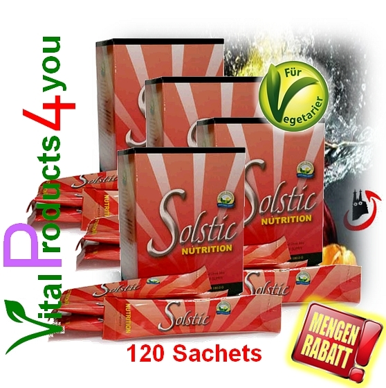Solstic Nutrition Sparset (120 Tütchen)  Art.-Nr. 9790 - Natures Sunshine Products (NSP)