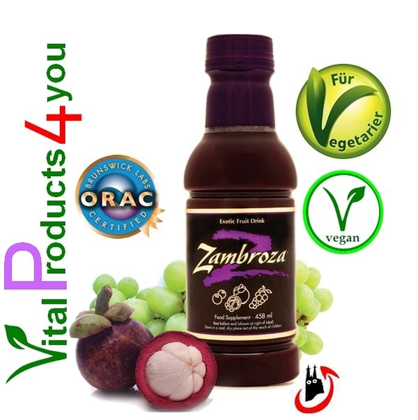 Zambroza (Mangostan) Art.-Nr. 4098 - Natures Sunshine Products (NSP)