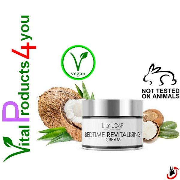 Bedtime Revitalising Cream – Nacht Revitalisierende Creme Art.-Nr. 7502 – Lily and Loaf