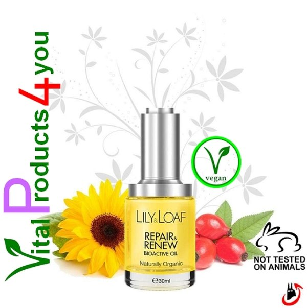 Repair and Renew BioActive Oil – Reparatur & Erneuerung Bioaktives Öl Art.-Nr. 7506 – Lily and Loaf